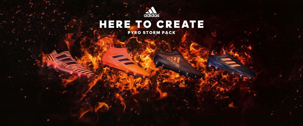 Pyro Storm pack – nová kolekce kopaček Adidas