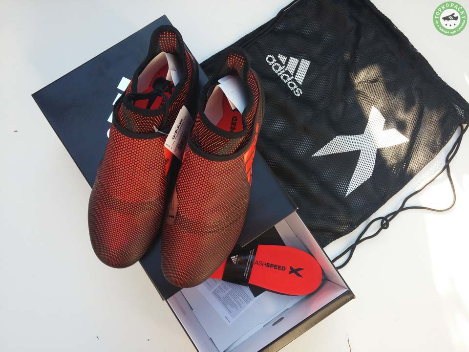 Kopačky Adidas X 17+ Purespeed balení