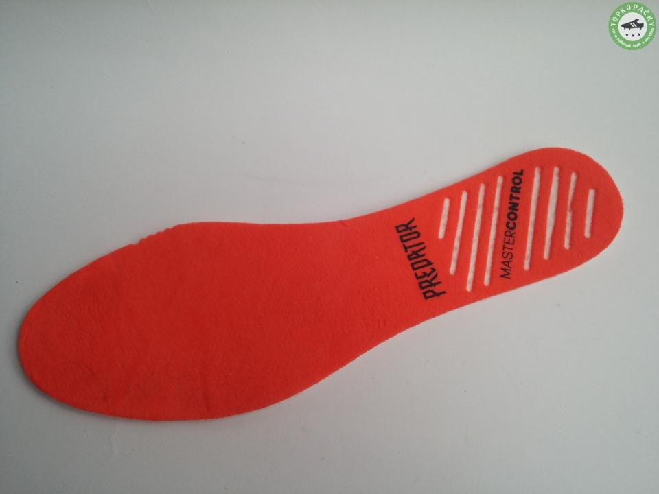 kopačky Adidas Predator 18+ vložka