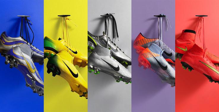 Nike Mercurial HERITAGE – retro vzhled nových kopaček
