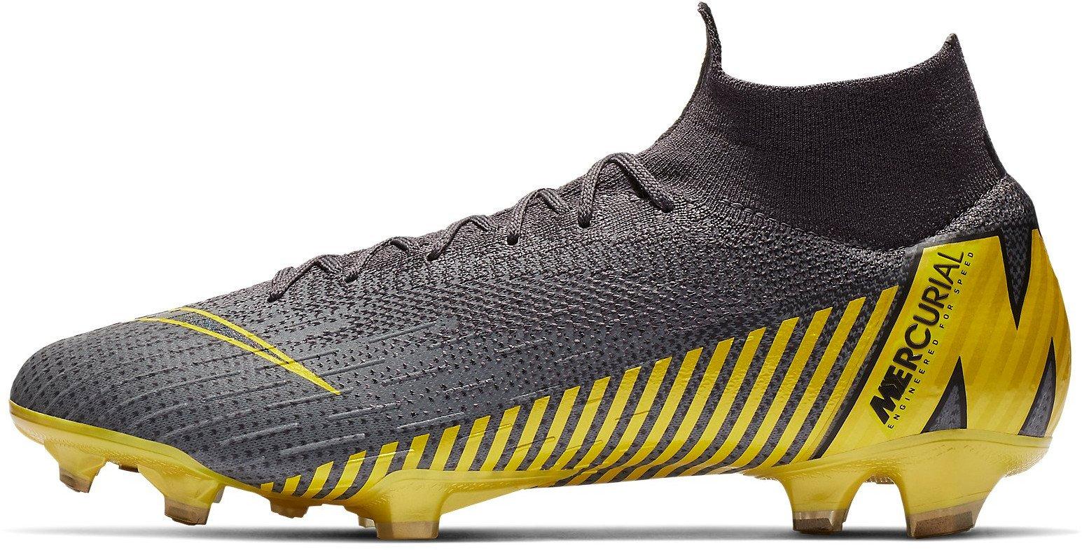 Kopačky Nike SUPERFLY 6 ELITE FG šedá