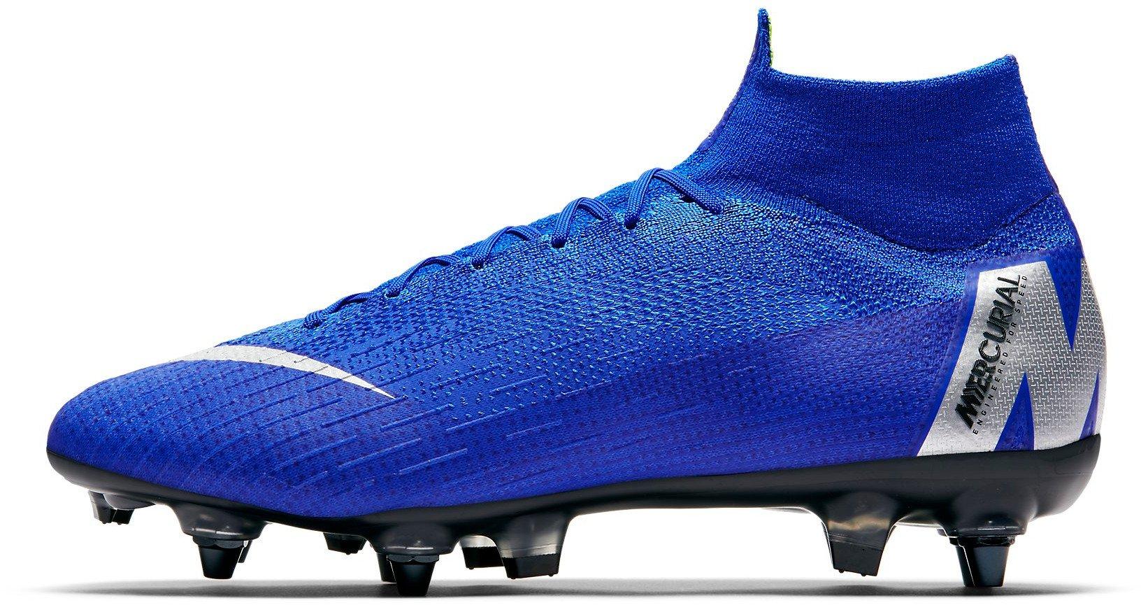 Kopačky Nike SUPERFLY 6 ELITE SG-PRO AC modrá