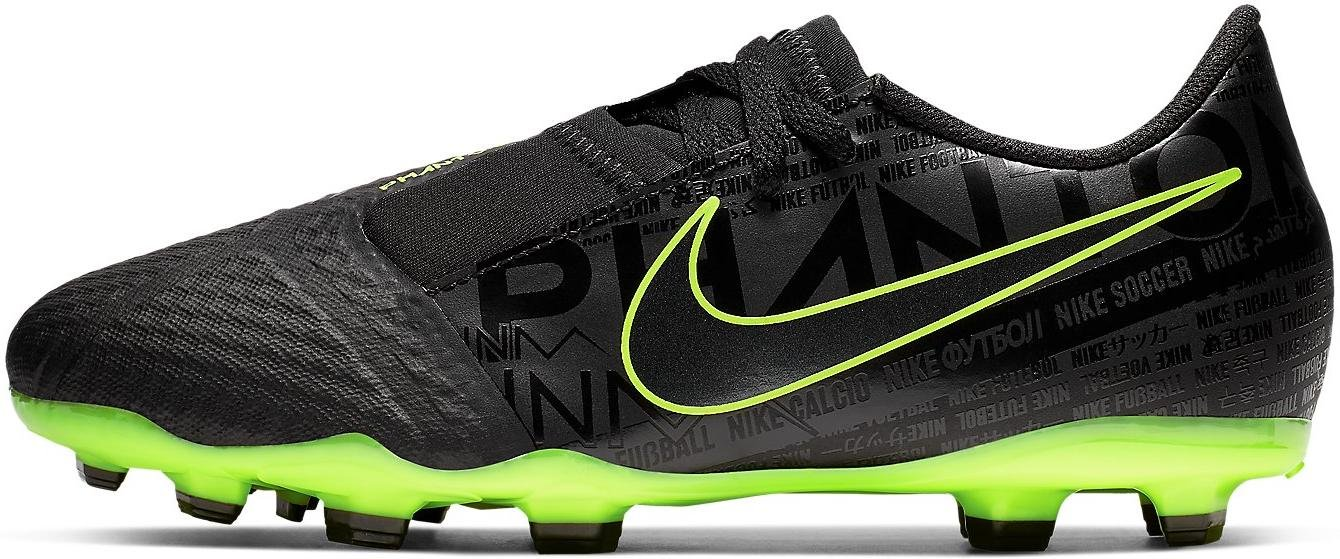 Kopačky Nike JR PHANTOM VENOM ACADEMY FG černá
