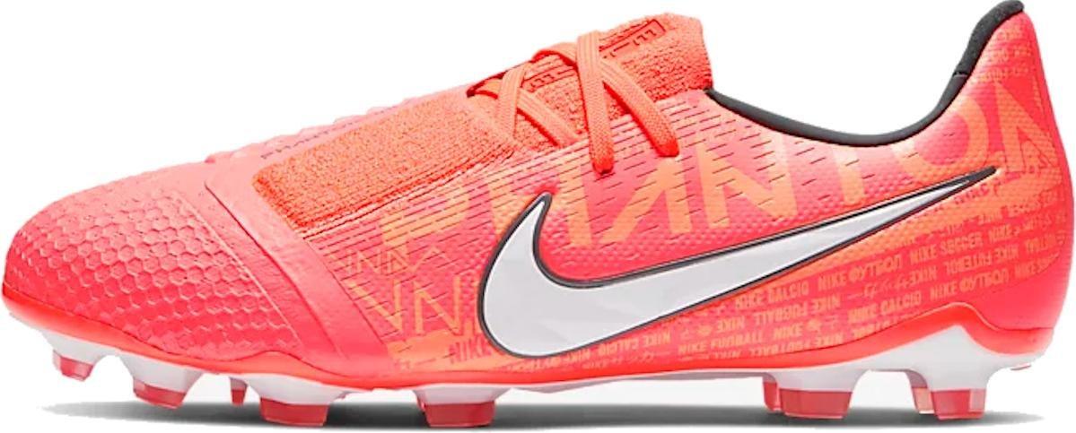 Kopačky Nike JR PHANTOM VENOM ELITE FG oranžová