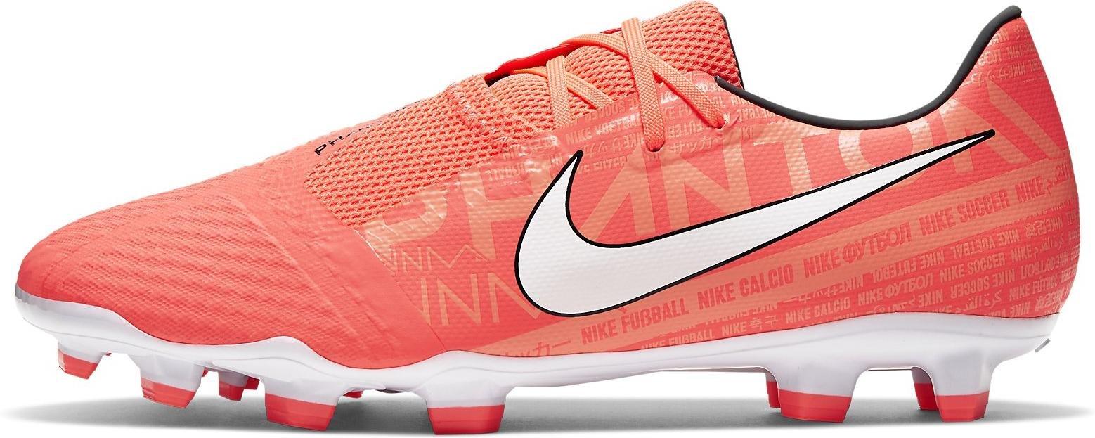 Kopačky Nike PHANTOM VENOM ACADEMY FG oranžová