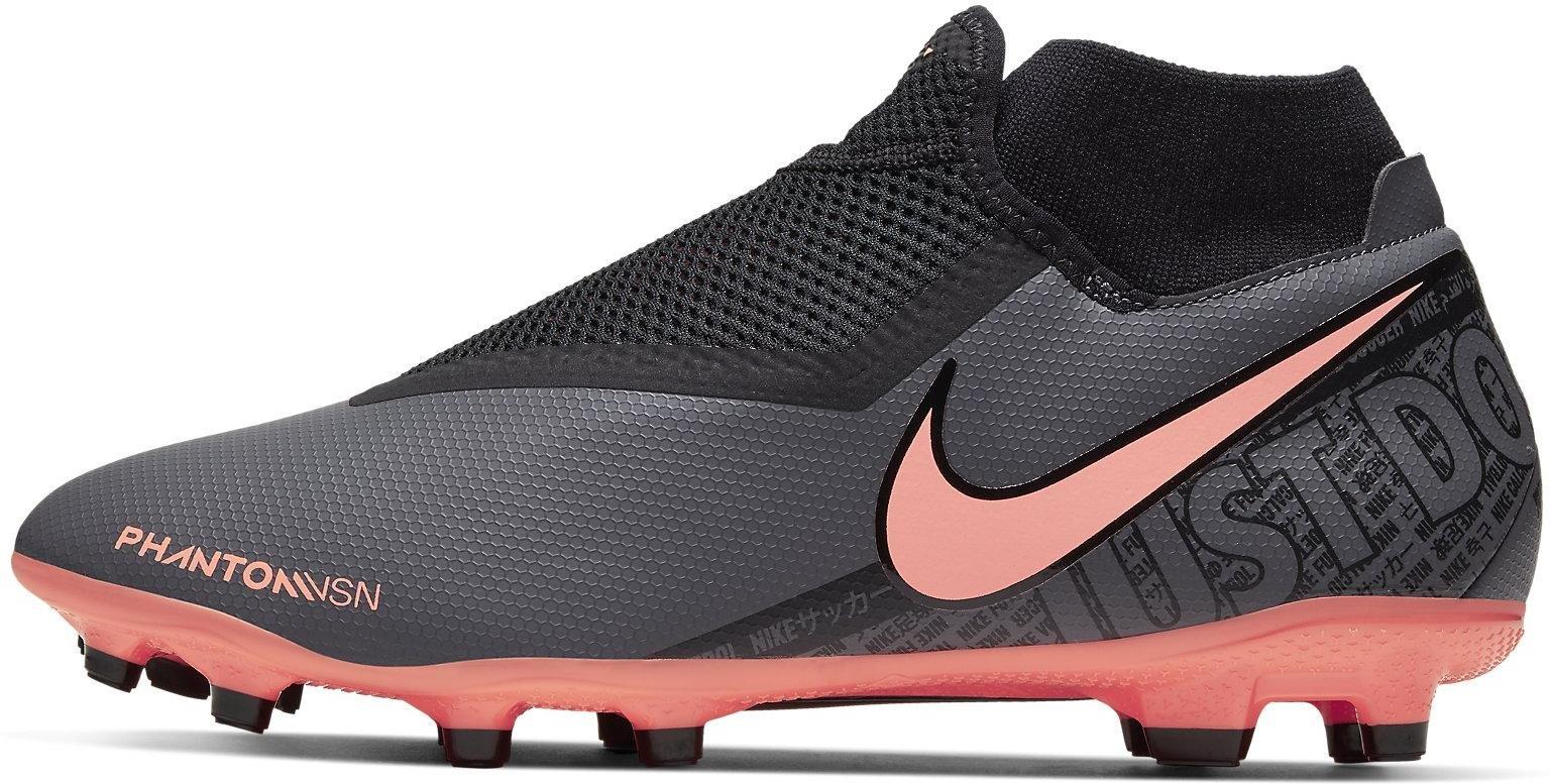 Kopačky Nike PHANTOM VSN ACADEMY DF FG/MG šedá
