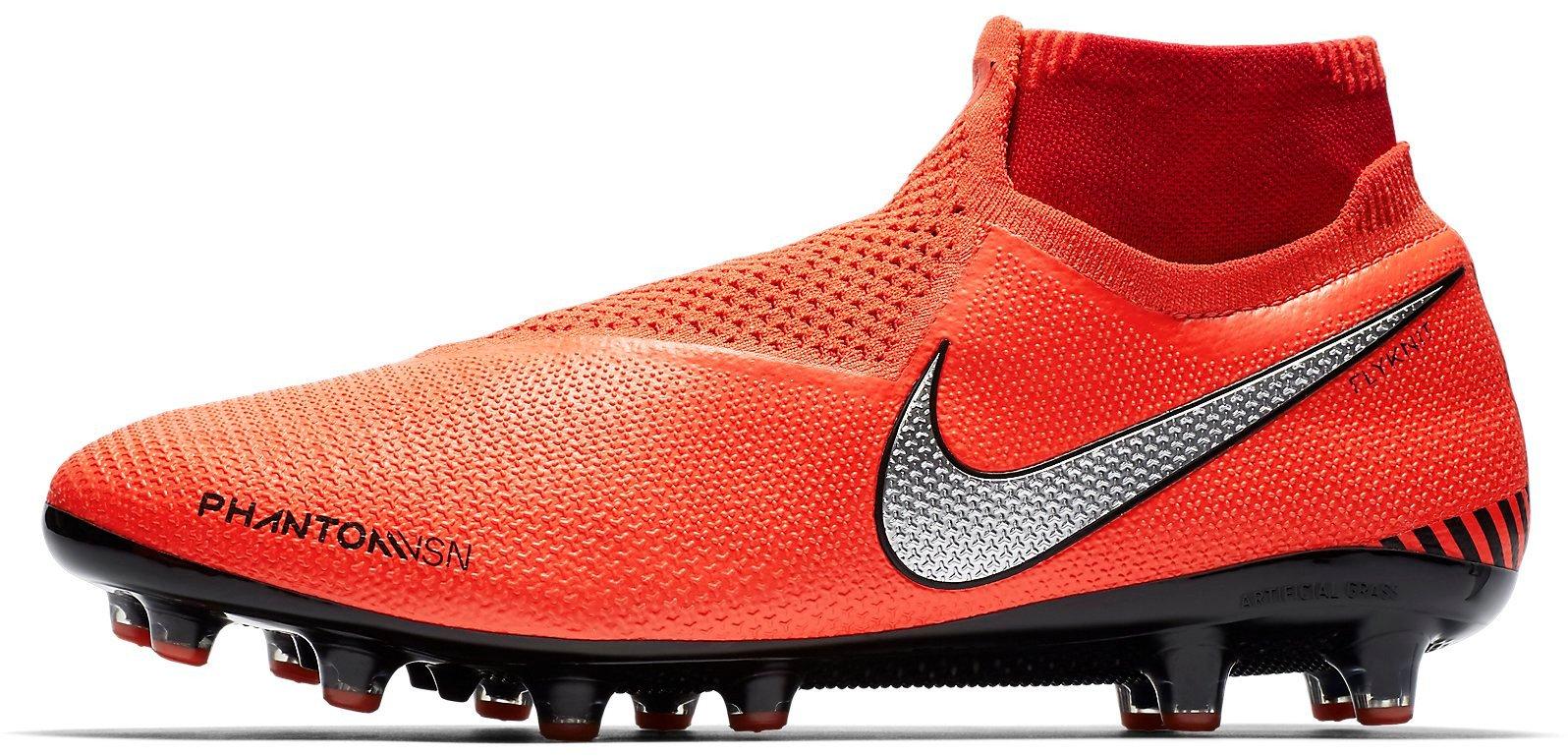 Kopačky Nike PHANTOM VSN ELITE DF AG-PRO červená