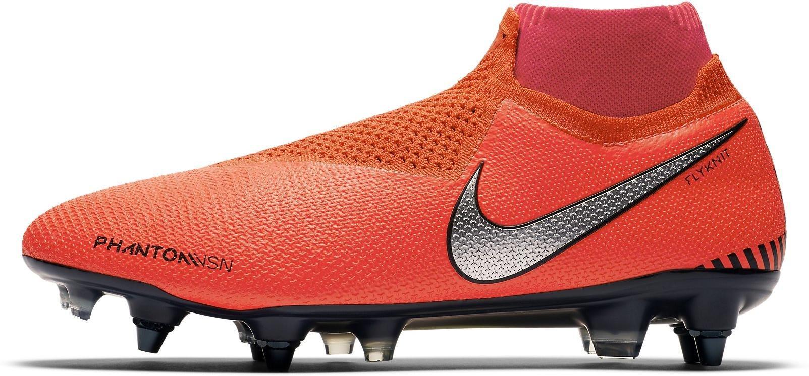 Kopačky Nike PHANTOM VSN ELITE DF SG-PRO AC červená