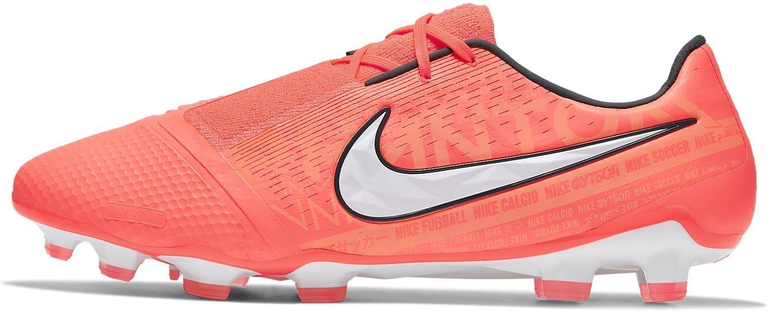 Kopačky Nike PHANTOM VENOM ELITE FG oranžová
