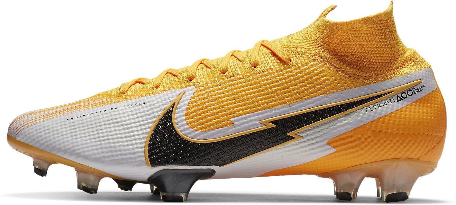 Kopačky Nike SUPERFLY 7 ELITE FG oranžová