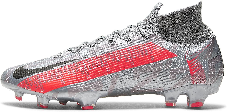 Kopačky Nike SUPERFLY 7 ELITE FG šedá
