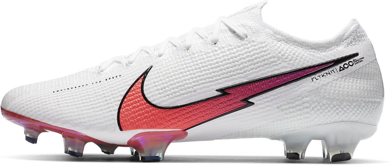 Kopačky Nike VAPOR 13 ELITE FG bílá