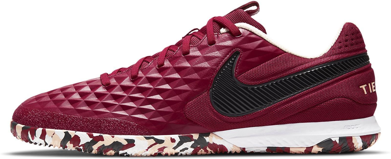 Sálovky Nike REACT LEGEND 8 PRO IC vínová