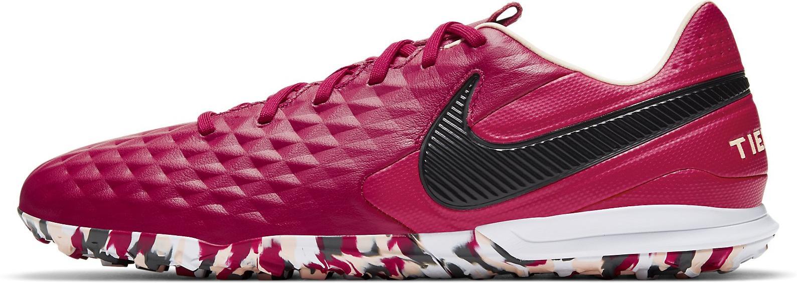 Kopačky Nike LEGEND 8 PRO TF vínová