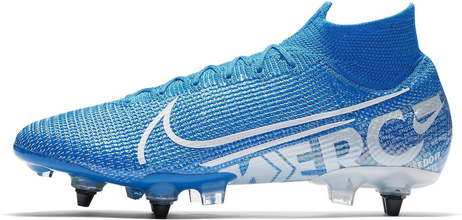 Kopačky Nike SUPERFLY 7 ELITE SG-PRO AC modrá