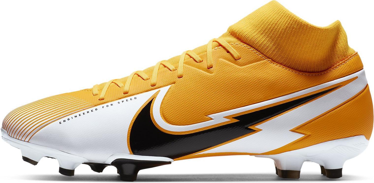 Kopačky Nike SUPERFLY 7 ACADEMY FG/MG oranžová