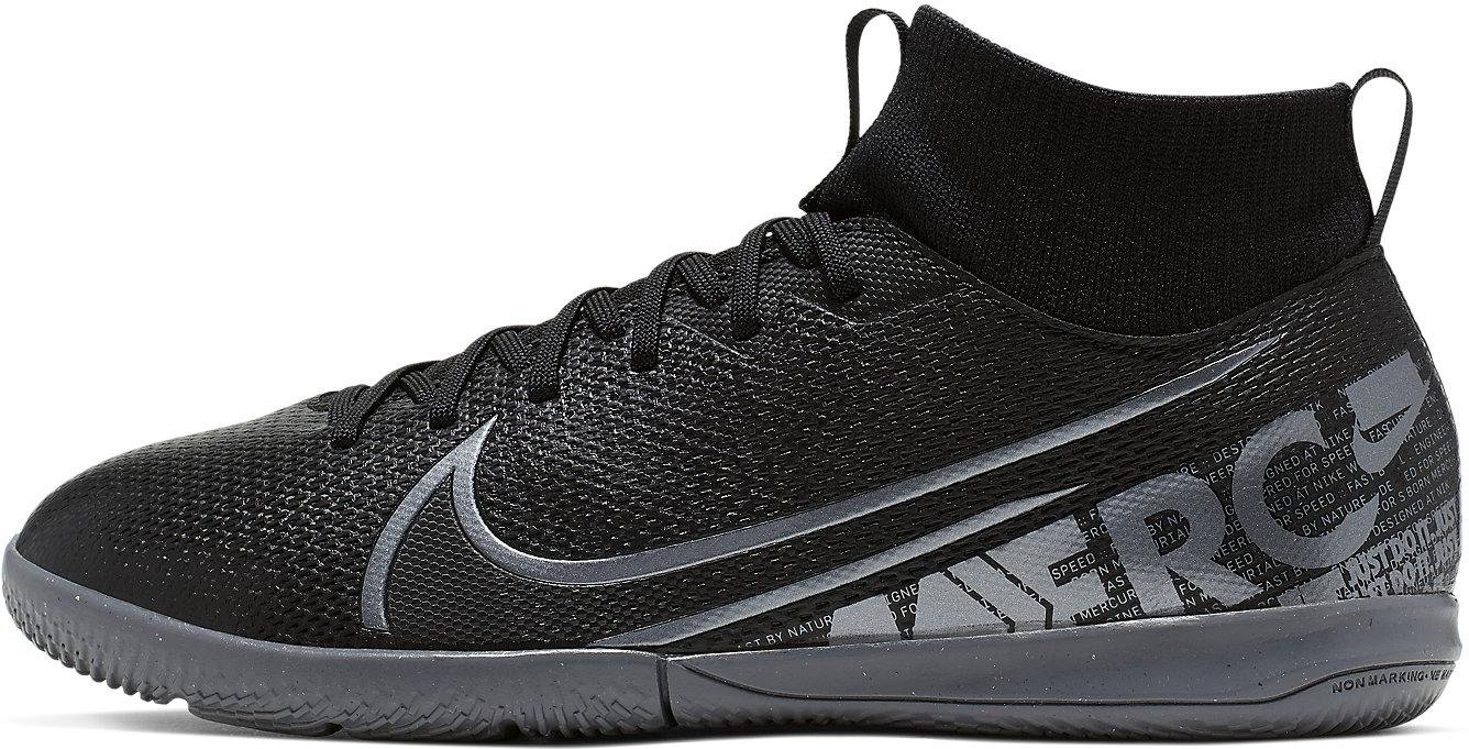 Sálovky Nike JR SUPERFLY 7 ACADEMY IC černá