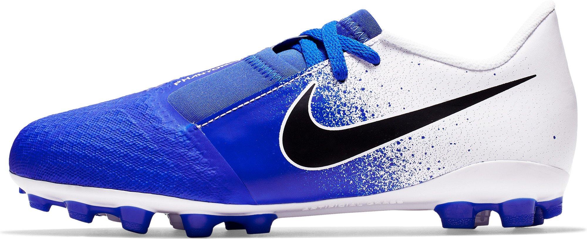 Kopačky Nike  JR Phantom VNM Academy AG-PRO modrá