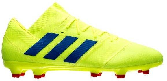 Kopačky adidas NEMEZIZ 18.2 FG žlutá