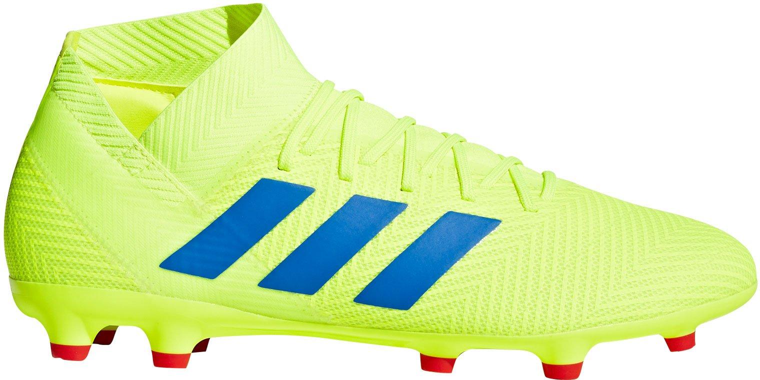Kopačky adidas NEMEZIZ 18.3 FG žlutá
