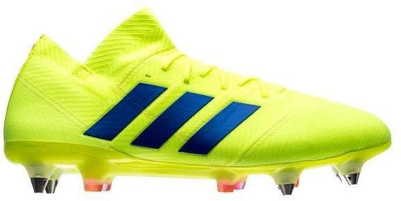 Kopačky adidas NEMEZIZ 18.1 SG žlutá