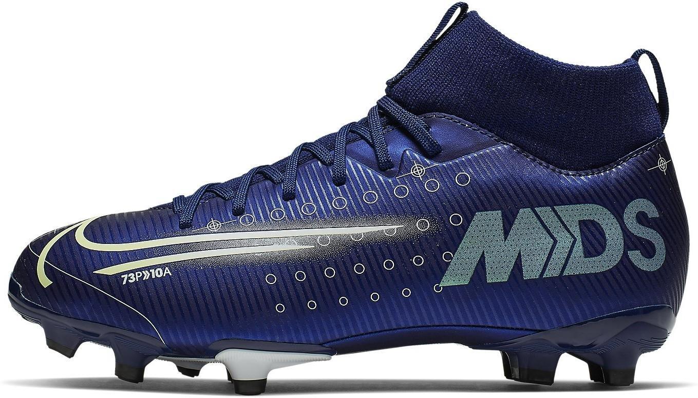Kopačky Nike JR SUPERFLY 7 ACADEMY MDS FG/MG modrá