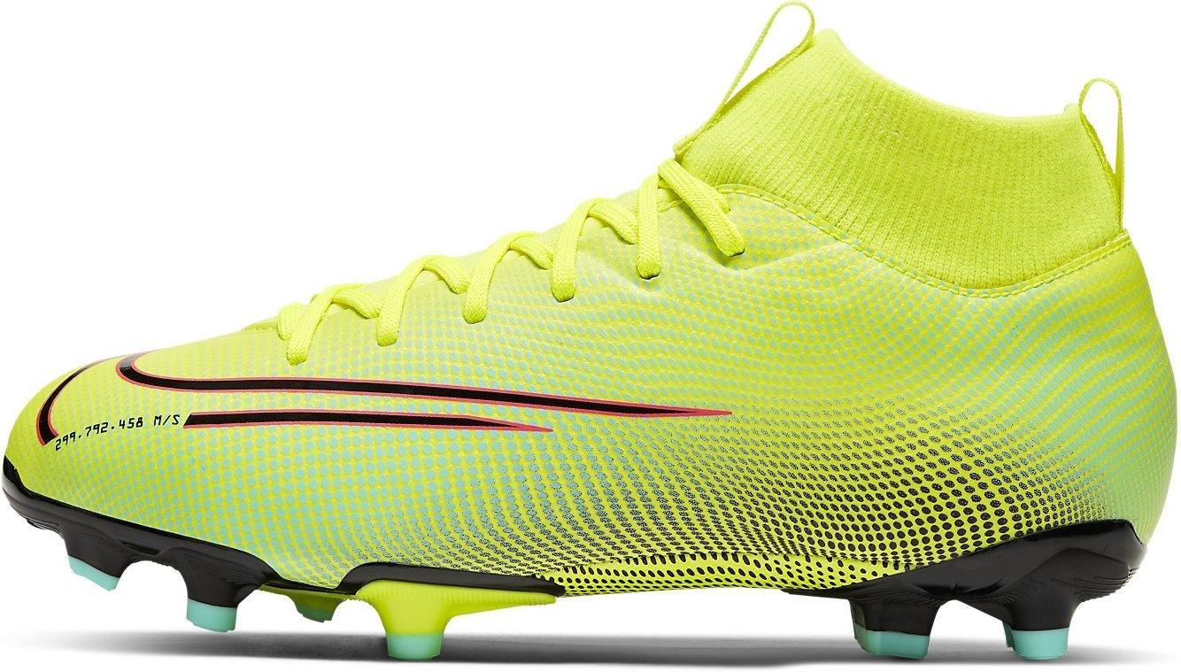 Kopačky Nike JR SUPERFLY 7 ACADEMY MDS FGMG zelená
