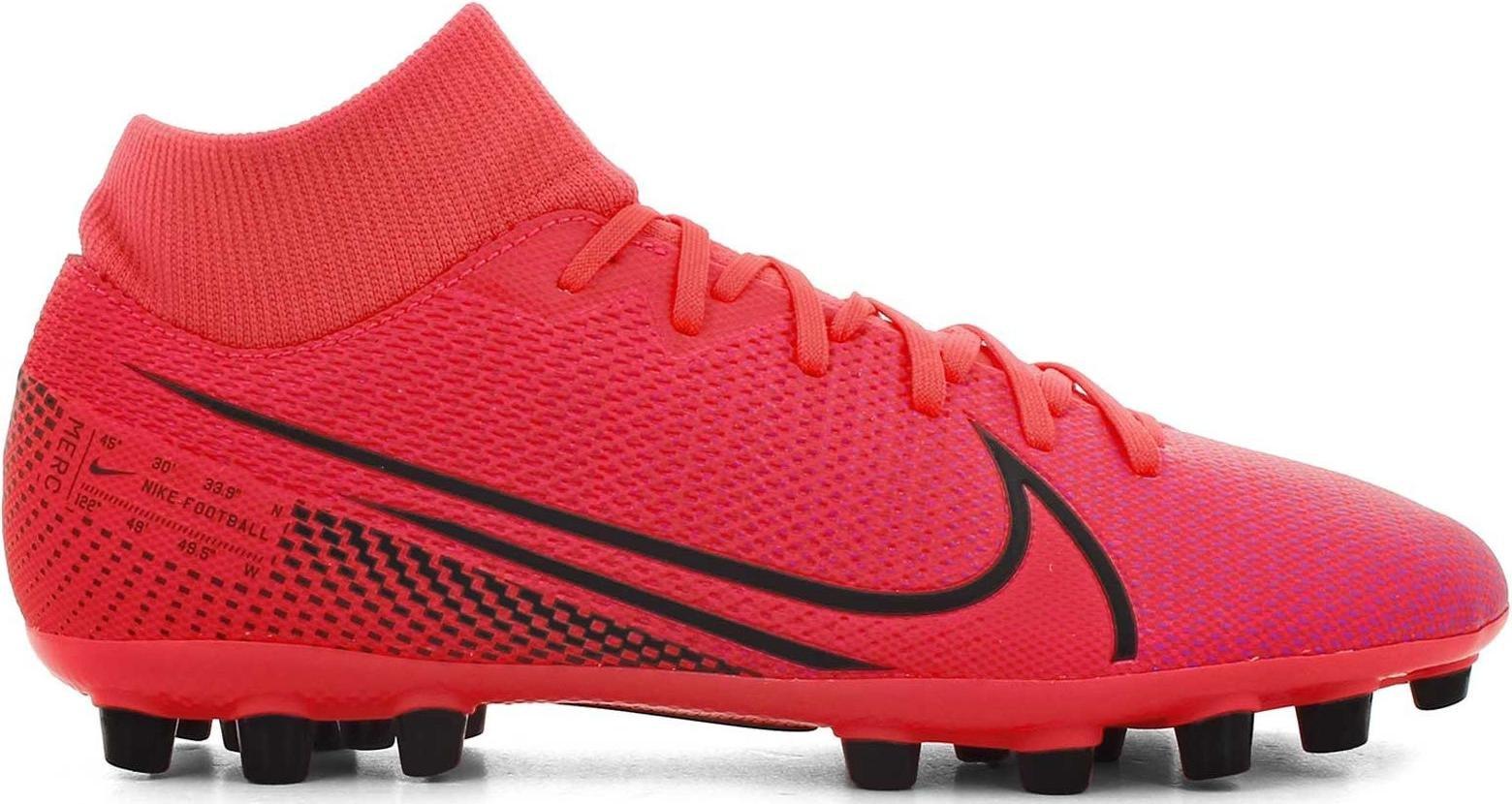Kopačky Nike SUPERFLY 7 ACADEMY AG červená