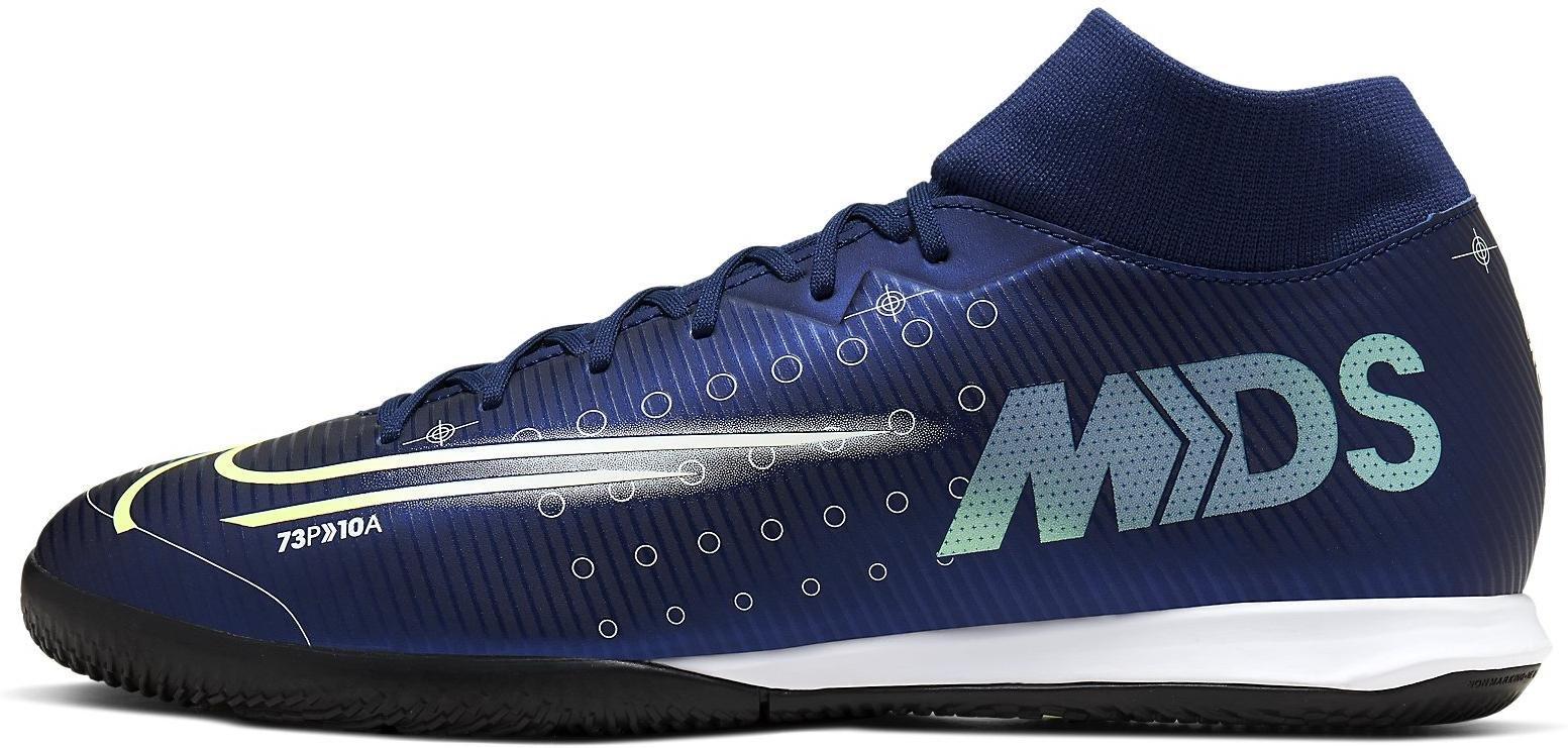 Sálovky Nike SUPERFLY 7 ACADEMY MDS IC modrá