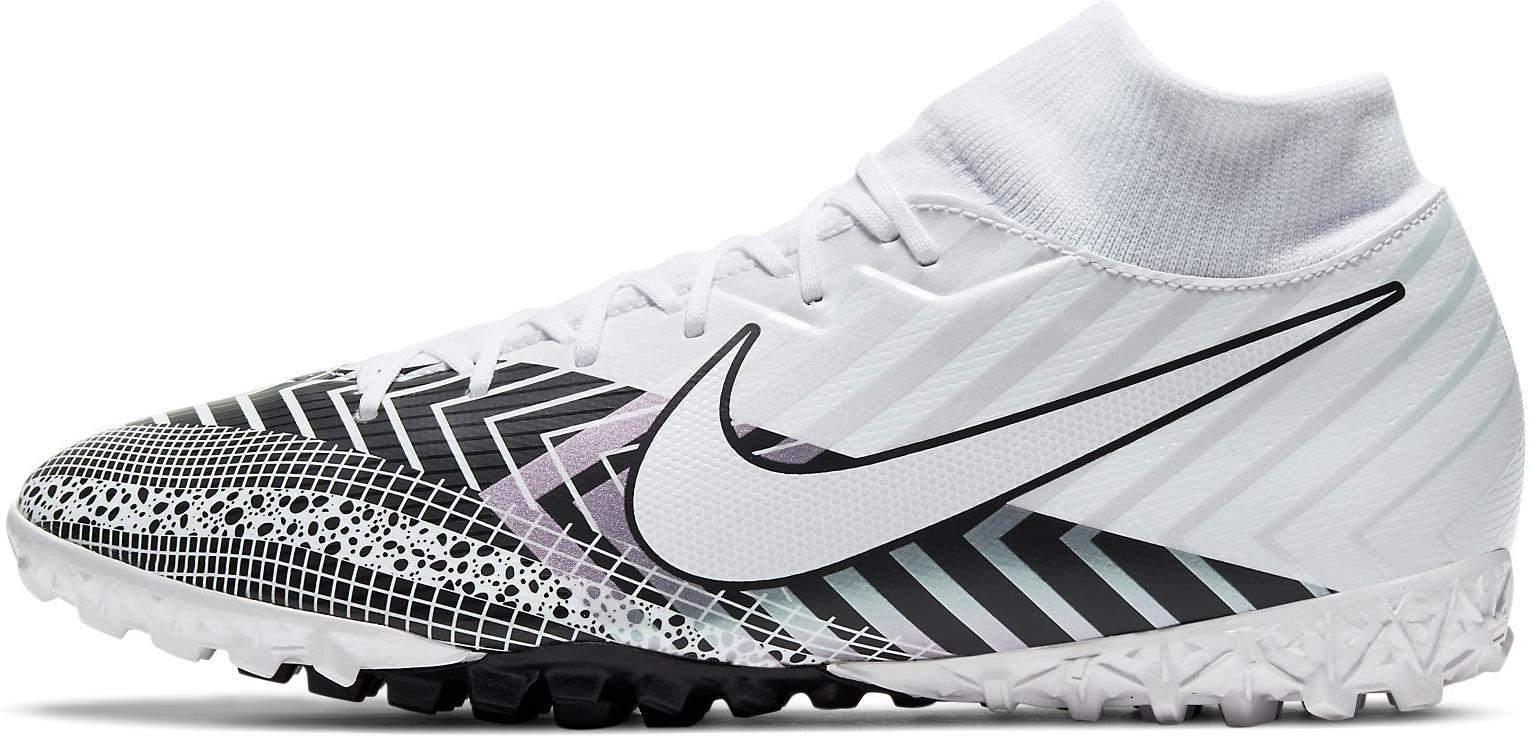 Kopačky Nike SUPERFLY 7 ACADEMY MDS TF bílá