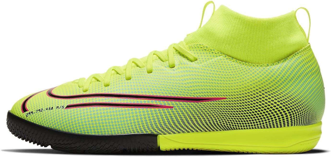 Sálovky Nike JR SUPERFLY 7 ACADEMY MDS IC zelená