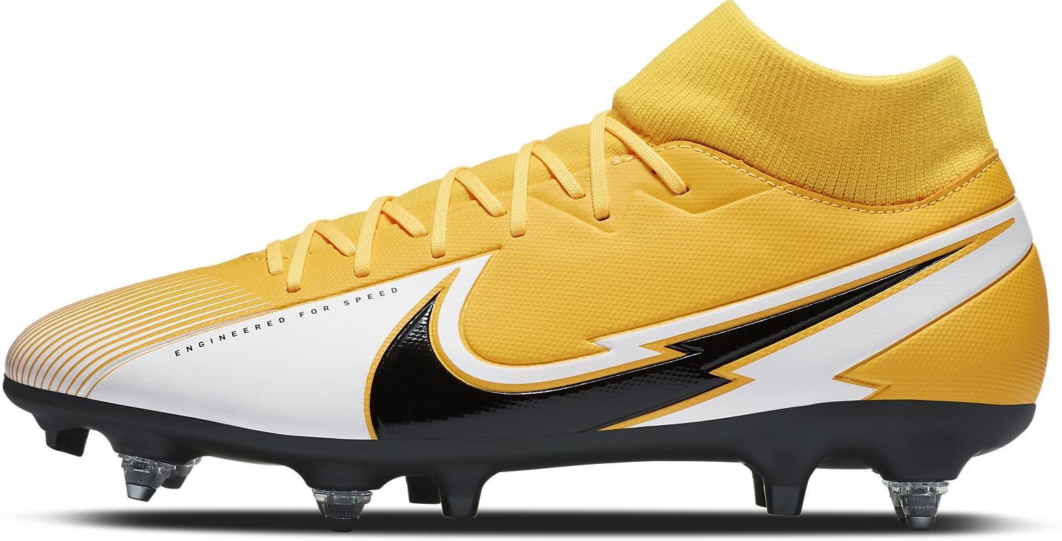 Kopačky Nike SUPERFLY 7 ACADEMY SG-PRO AC oranžová