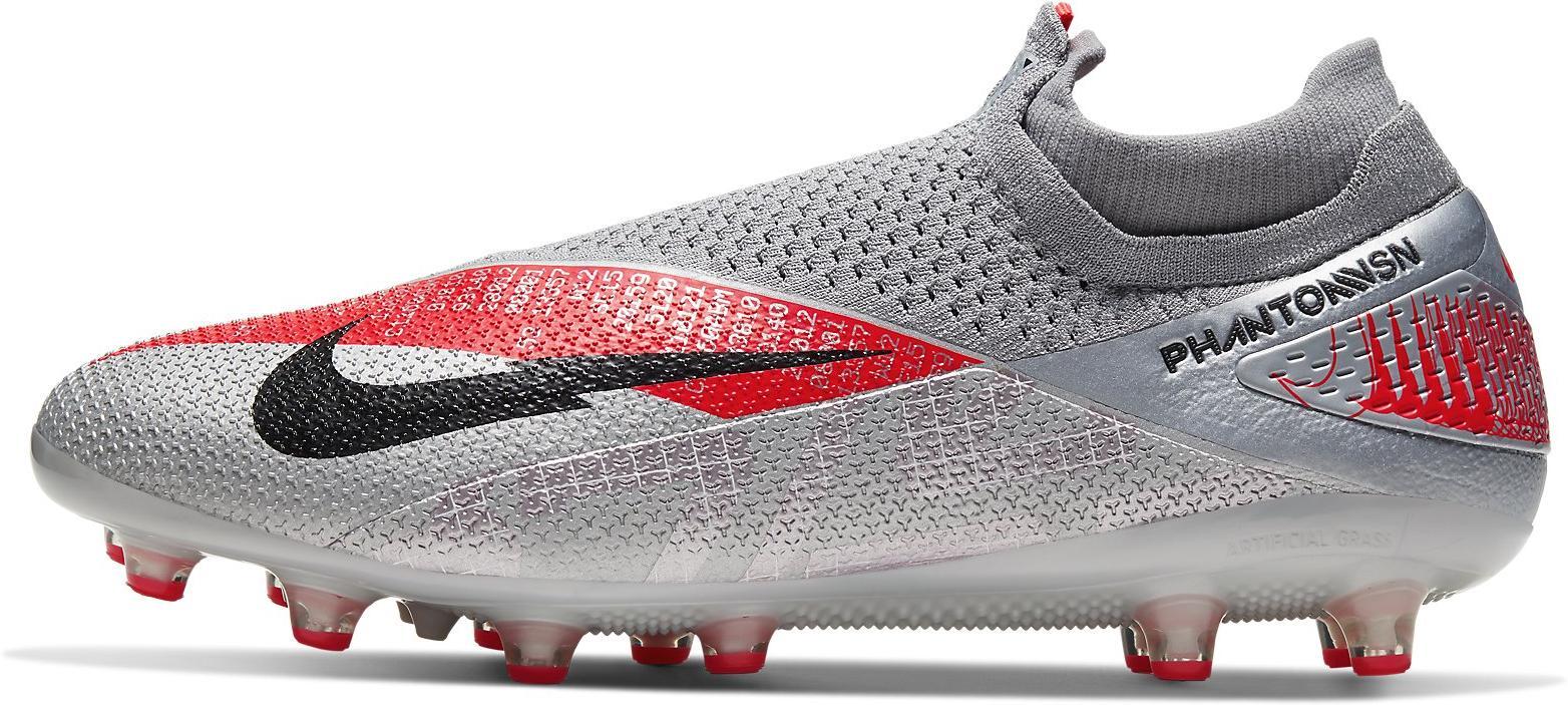 Kopačky Nike PHANTOM VSN 2 ELITE DF AG-PRO šedá