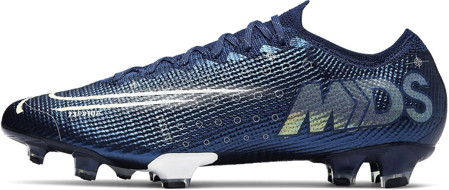 Kopačky Nike VAPOR 13 ELITE MDS FG modrá