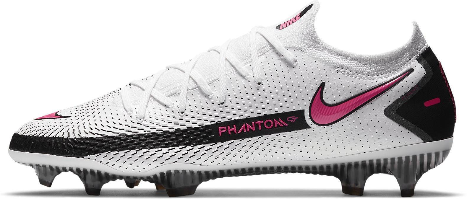 Kopačky Nike PHANTOM GT ELITE FG bílá