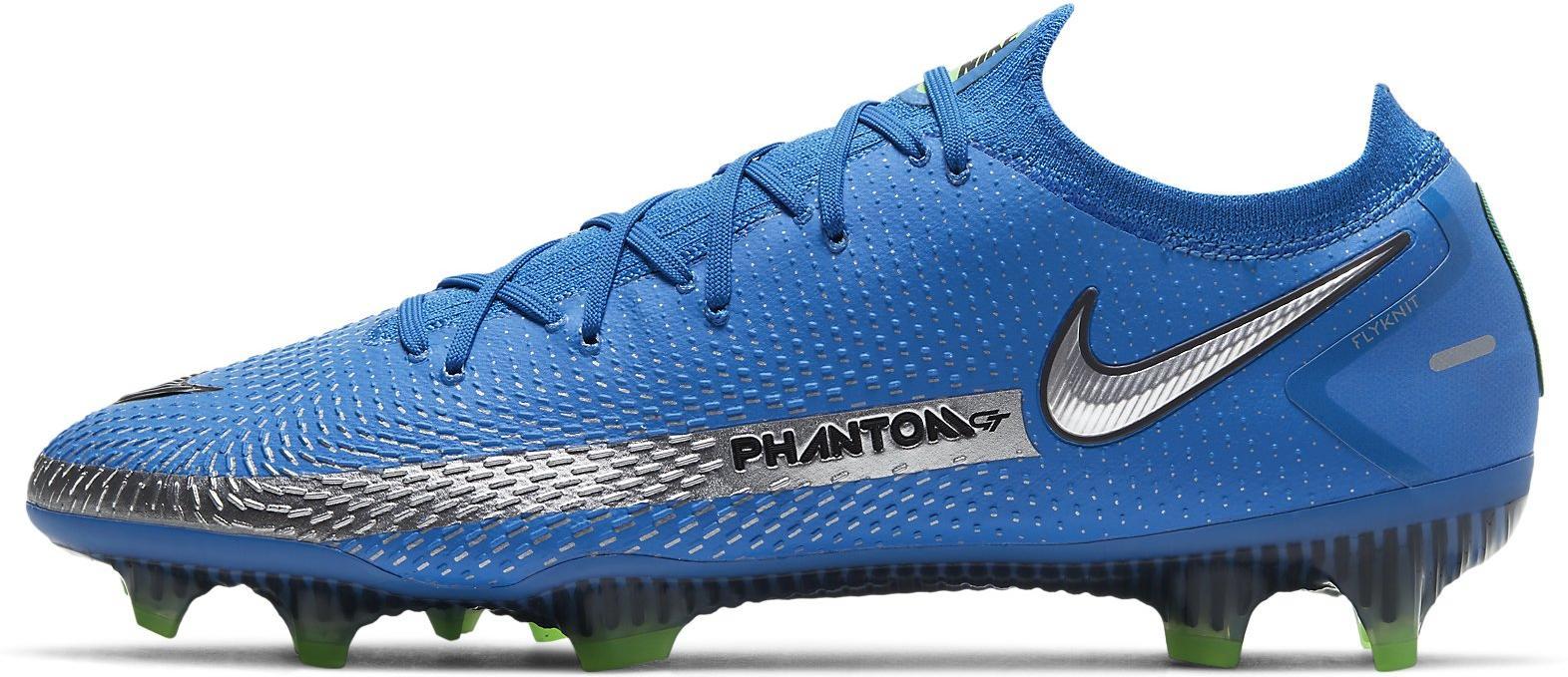 Kopačky Nike PHANTOM GT ELITE FG modrá