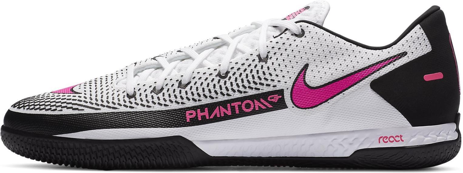Sálovky Nike REACT PHANTOM GT PRO IC bílá