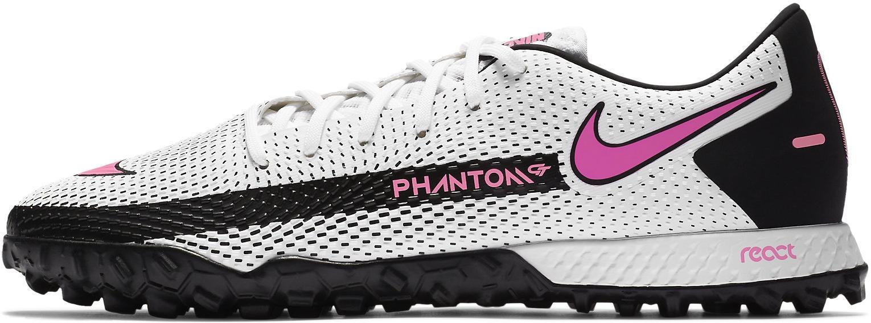 Kopačky Nike REACT PHANTOM GT PRO TF bílá
