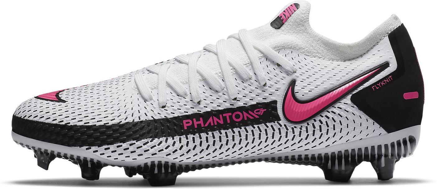 Kopačky Nike JR PHANTOM GT PRO FG bílá