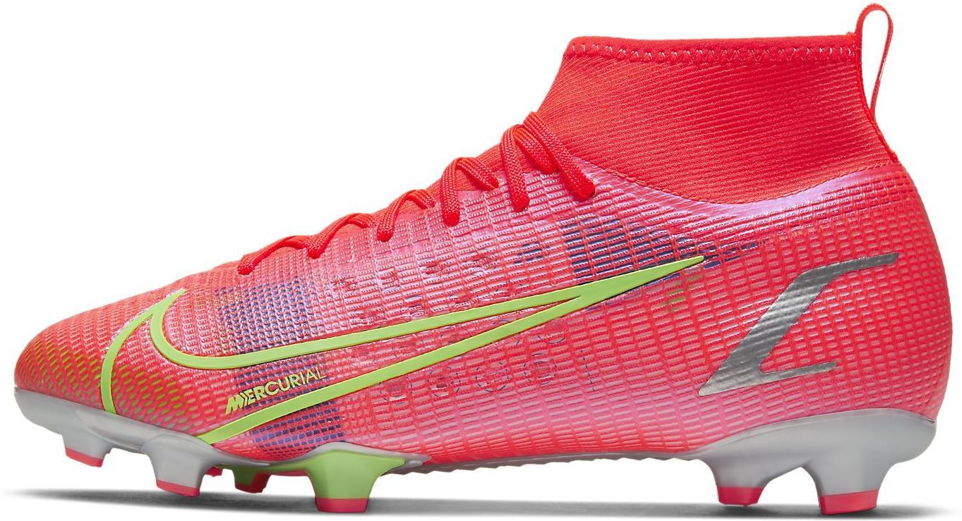 Kopačky Nike JR SUPERFLY 8 PRO FG červená