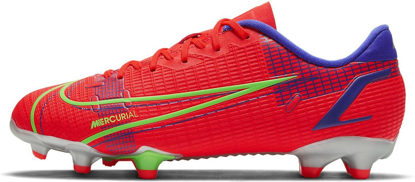 Kopačky Nike JR VAPOR 14 ACADEMY FG/MG červená