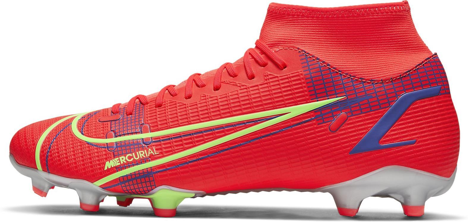 Kopačky Nike  Mercurial Superfly 8 Academy MG červená