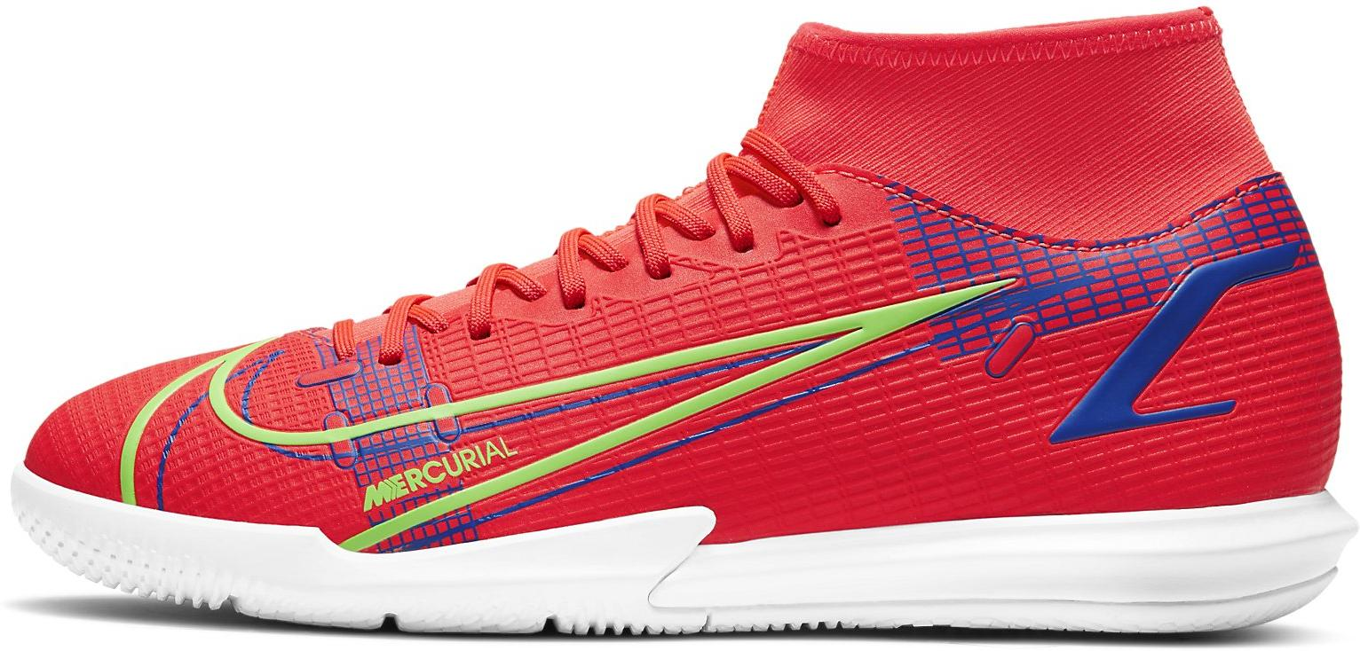 Sálovky Nike SUPERFLY 8 ACADEMY IC červená