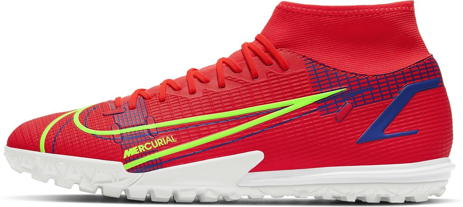 Kopačky Nike SUPERFLY 8 ACADEMY TF červená