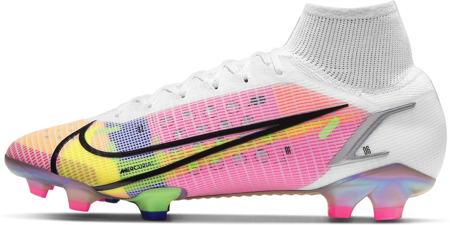 Kopačky Nike SUPERFLY 8 ELITE FG bílá