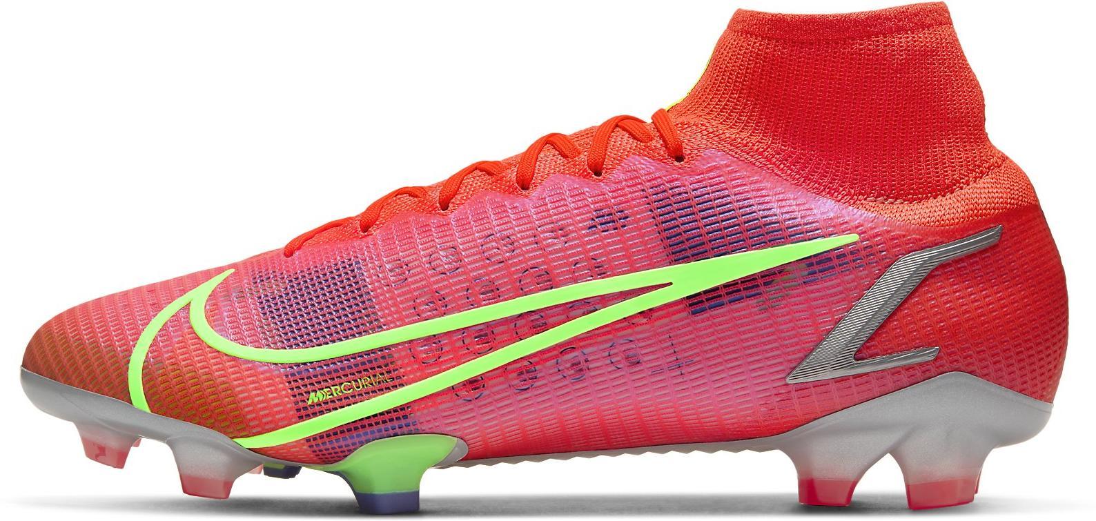 Kopačky Nike SUPERFLY 8 ELITE FG červená