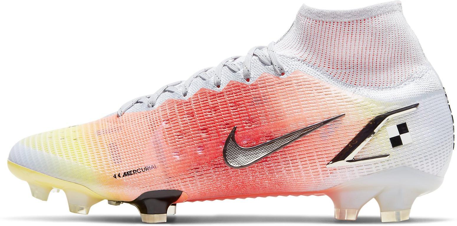 Kopačky Nike SUPERFLY 8 ELITE MDS FG bílá