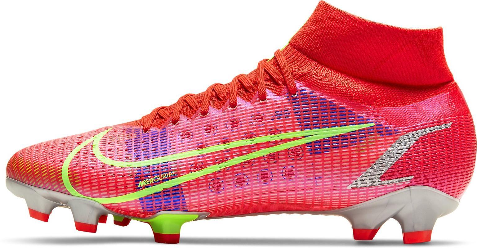 Kopačky Nike SUPERFLY 8 PRO FG červená