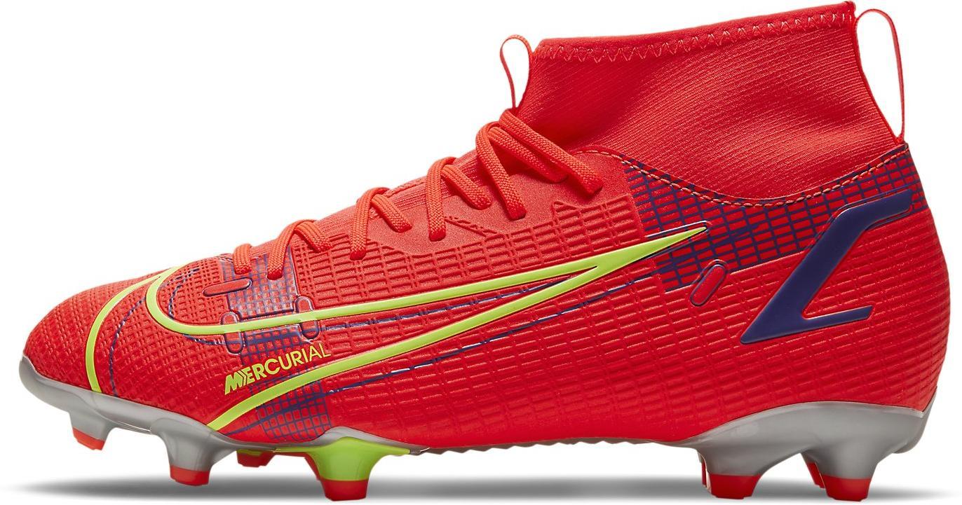 Kopačky Nike JR SUPERFLY 8 ACADEMY MG červená