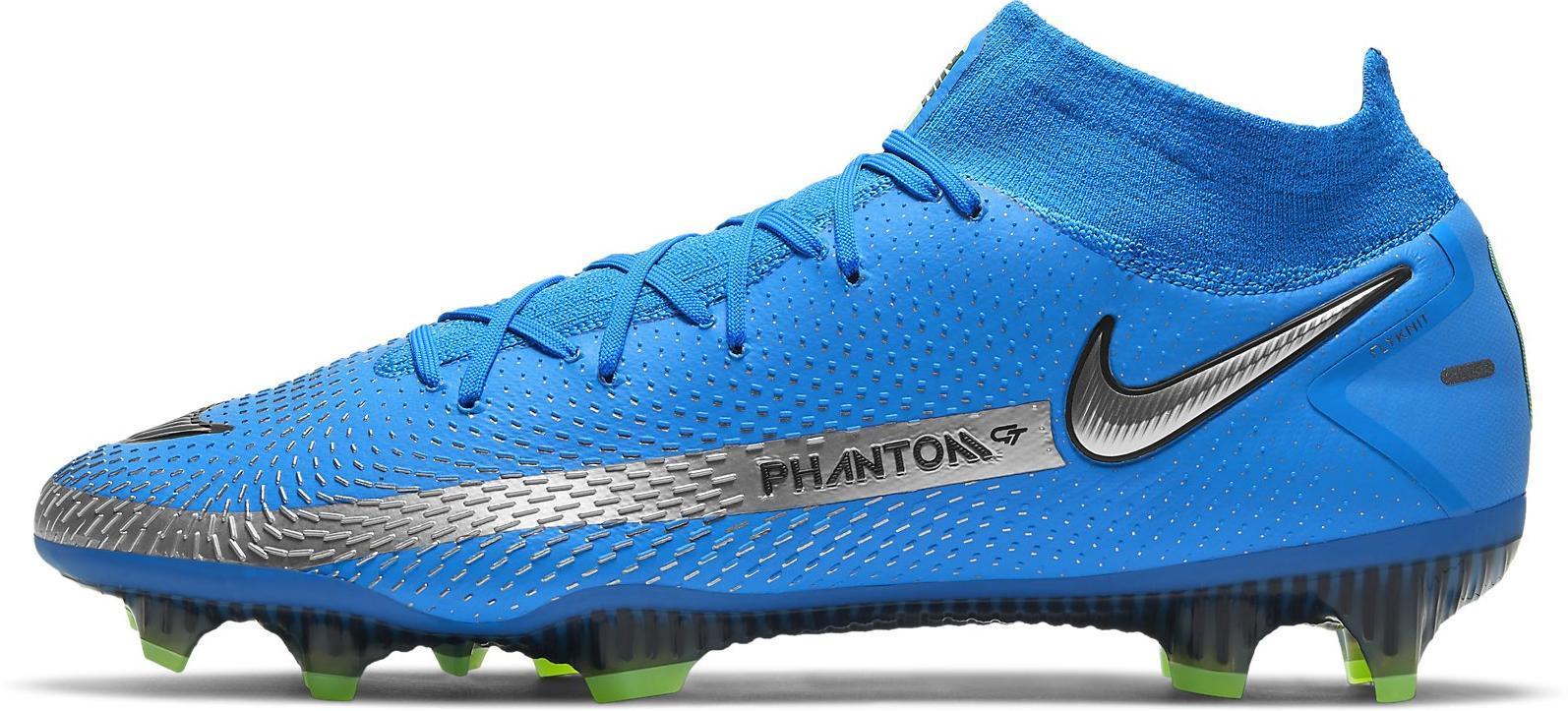 Kopačky Nike  PHANTOM GT ELITE DF FG modrá